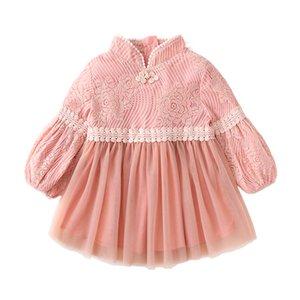 Оптовая дешевая продажа 2022 бесплатная доставка Детская детская одежда Девушка платья