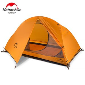 Naturehike Portable Professional Double Layer One Man 210T 20D Nylon Silicone Cycling Tent for 3 Seasons