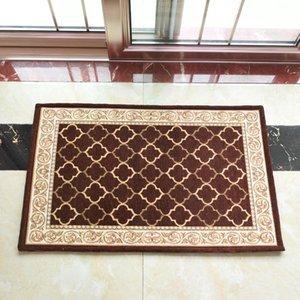 Home Mat Jacquard carpet European style Geometry pattern Household Floor mat Doormat carpet Non-Slip Decor Carpets Area Rugs