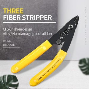 CFS-3 CFS-2 FO103-S Three-port Fiber Optical Stripper  Pliers  Wire strippers FTTH Tools Optical Fiber Stripping Pliers