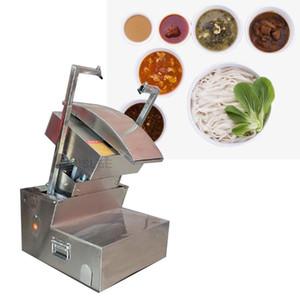 Faca automática Elétrica Cut Noodle máquina raspada macarrão que faz a máquina