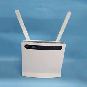 huawei desbloqueado B593 B593u-12 mais 2pcs antena wi-fi router wireless 4G LTE com slot para cartão SIM pk B310S-22 Qioi #