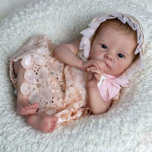 RBG DIY Kit de poupée vierge reborn bébé poupée de bébé 16 pouces LIFELIKIKIKIKE TINK Vinyl Poupées non finies de poupée pour fille Chrismas cadeau 201203