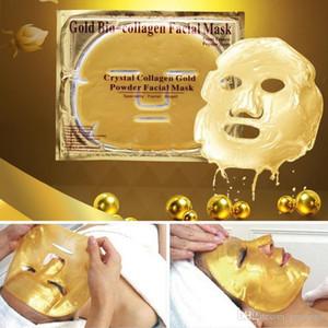 Fa Bio-colágeno en polvo máscara facial Crystal Anti-envejecimiento oro máscara de la máscara hidratante facial del colágeno del oro Fa Bio-Colágeno Facial Powder Wkjw