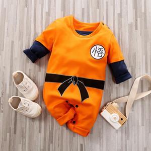 Baby Anime Kostüm Neugeborene Junge Strampler Babygrow Neugeborene Baby Kleidung Säugling Kleinkind Onesie Langarm Kinder Jumpsuit Pyjamas C1018