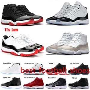 New Fashion 11 concord 45 Men Basketball Shoes for Women Sneaker black white Platinum Tint Prom Night gym red bred Trainer Sports Shoe
