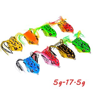 8 Color Mixed 5g-17.5g Frog Hook Fishing Hooks Soft Baits & Lures Pesca Fishing Tackle B_L015