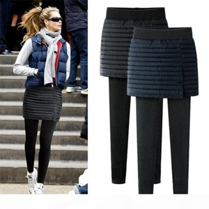 New design women thick leggings for winter Warm ladies' plus size leggings skirt style Thick Slim Leggings Tights ouc2148