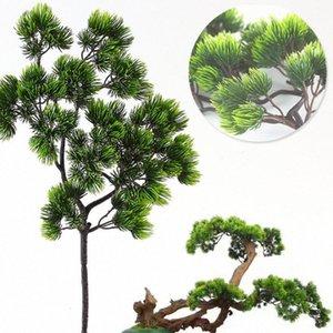 Yapay plastik Pinaster Cypress Noel düşmek Çam ağacı Dallar yaprak DKNz # çelenk yeşillik çiçek aranjmanı Yapraklar dekorasyonlar