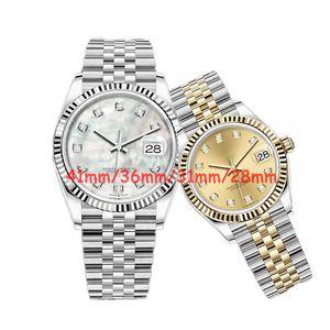 WatchBR-U1 41mm 36mm 31mm 28mm Klasik Erkek Mekanik Otomatik Saatler Su Geçirmez Oyster İzle Saatı İzle Womens Lady Saatler