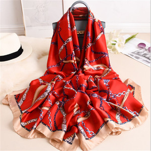 Spring and Autumn Warm Scarf Women's Long Air Conditioning Shawl Warm Fashion Sunscreen Scarf