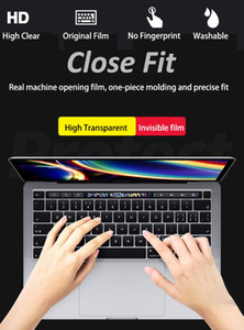 KPAN US Type TPU Transparent Clear Keyboard Cover For Pro Air Retina 11 12 13 15 A2289 A2251 Pro 16 Inch 2020 A2141