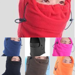 Windproof Cycling Brand Outdoor New Ski Winter Thermal Hood Full Face Mask Hat Eight Colors DropN1B