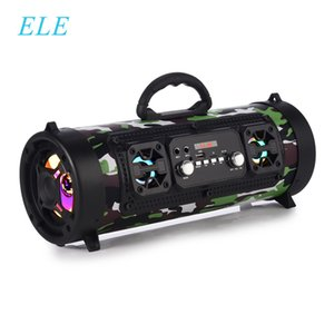 ELE ELEOPTION Portable Bluetooth Speaker Column Wireless Speaker Music Stereo Subwoofer Speaker Move KTV 3D Sound FM Radio 201109
