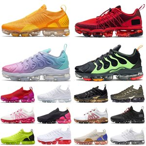 size 13 air vapormax tn plus flyknit 2020 TN PLUS MOC SIZE 13 chaussures de course de sport CNY RED LIME GREEN Pastel de haute qualité femmes hommes formateurs baskets de plein air