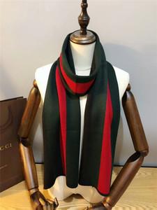2019 Classic beautiful unisex autumn winter Wool knitted scarf strip design scarf shawl size 180*30cm scarf