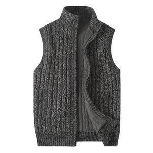 Sweater Men Casual O-Neck Pullover Men Autumn Winter Slim Fit Sleeveless Shirt Mens Sweaters Knitted Pull Homme Plus Szie 6XL