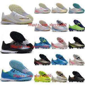 2020 chaussures haut hommes de qualité de soccer X ghosted TF .1 crampons de football X20.1 FG chaussures de football Tacos de Futbol Formateurs nouveaux sports