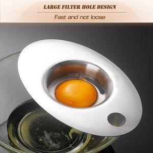 304 stainless steel egg white separator Egg yolk filter Egg filter separator