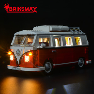 Briksmax Kit luce LED per Volkswagen T1 Camper Van Building Blocks Model Light Set compatibile con 10220 c0119