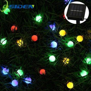 Osiden 8m 60 Led Solar Lamps Led String Fairy Lights Garland Christmas Solar Lights For Wedding Garden Party Decoration Outdoor Swy sqcdla