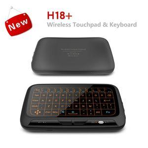 Reemplazo para Android TV Box PC Wireless Air Mouse Mini Teclado Pantalla completa Toque 2.4GHz Teclado Touchpad