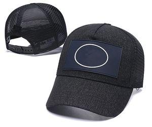 Высокое Качество Популярные шаровые шапки сетки дышащая повседневная мода Sun Hat Открытый спортивный спортивный мужской перекрестной крышкой известный бейсбол