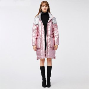2020 Winter Down Jackets Woman Long Fund Even Hat Thickening Ins Fund YA8001