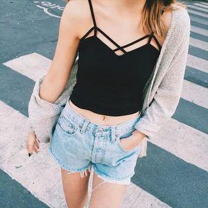 Black white Spring New Tank Tops Women Sleeveless fitting T Shirt Ladies Vest Singlets Feminino Tops Womens 2020 Summer