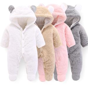 Schöne einteiliges Kleidungsstück Klettern Kleidung Neugeborene Baby Kleidung Kind Frauen Mann Jumpsuits Strampler Frühling Herbst 28DK K2
