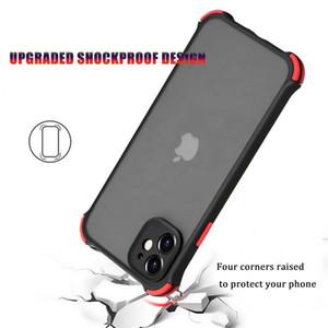 TPU transparente caja del teléfono a prueba de golpes armadura dura mate protectora de la PC cubierta para la galaxia M31 S20 S10 A50 A31 A51 A71 A21S