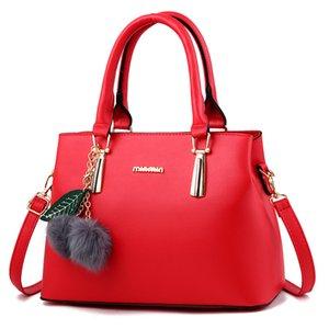 luxurys designers bags Women handbag 2020 new hairy fashion jewelry one shoulder portable women's bag crossbody bag Pom Poms