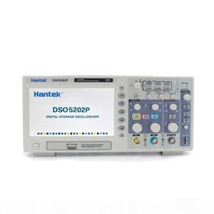 Hantek DSO5202P Портативный цифровой осциллограф 2 канала 200МГц Osciloscopio LCD PC USB Переносные осциллографы Multimetro