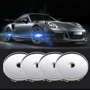 4pcs 60mm Car Wheel Hub Center Caps Auto Accessories Tyre Troms Replacement for All Cars