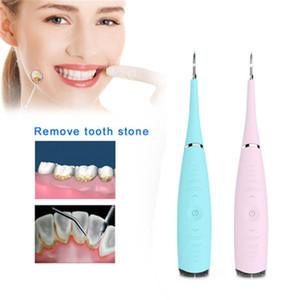 Tartre Sonic électrique Plaque Remover Tool Kit dents Scraper tartares Retrait Nettoyant tache les dents Gomme Polisseuse