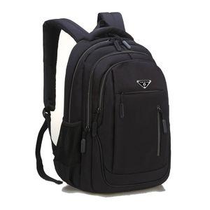 SUUTOOP hombres de gran capacidad mochila portátil 15.6 Oxford School sólido multifuncional bolsas de viaje Mochila Mochila para Hombre