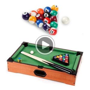 ACXS Snooker Boules de billard de 25 mm de résine Mini Billiard Ball Enfants Toy Petit queue de billard Balls Ensemble complet A69A