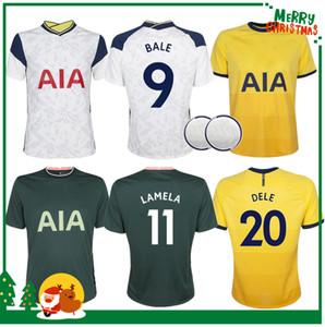 20 21 Kane Son Bergwijn Ndombele Futbol Formaları 2020 2021 Tottenham Lucas Dele Jersey Futbol Kiti Gömlek Lo Celso Bale Yetişkin Erkekler + Çocuklar Kiti