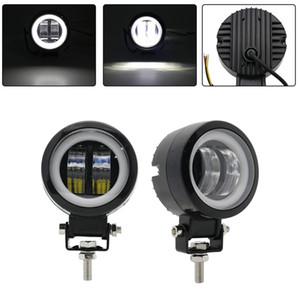 2ST / 1PCS wasserdicht runde LED Angel Eyes Light Bar-Spot-Licht Motorrad Fahren Daytime Einstellplatz Auto-Boots-LED-Arbeitslicht-Nebel-Lampen