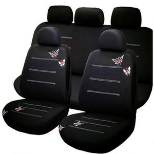 جديد قطن + مقعد القماش سيارة يغطي لاكسسوارات السيارات ميتسوبيشي ASX لانسر EX SPORT زينجر FORTIS أوتلاندر