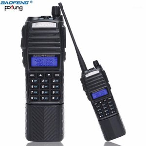 Baofeng UV-82 Walkie Talkie 5W 3800mAh Battery Dual P137-174 400-520MHz UV 82 Ham Amateur Portable Radio Station For Hunting1