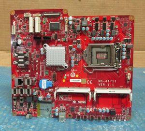 MSI AIO MOTHERBOARD MS-AA711 VER 1.1 1155 H61,% 100 çalışma için MÜKEMMEL