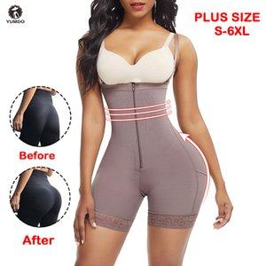 Yumdo Butt Levantador de mujeres Trainer de cintura Cuerpo Shaper Panties Pantalón pantalones Shortewear adelgazar ropa interior Cuerpo Shaper Lady Fajas LJ200921