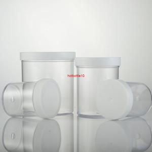 120 ml 200ml 400ml vacío transparente PS Envase de frasco de plástico, botella de crema de lata de polvo de polvo puede empaquetado cosmético 12pc / lotShipping