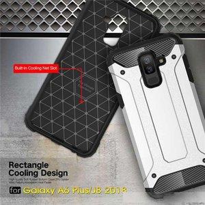 SGP amour Case For Samsung J2 core J4 plus J6 1 J3 J7 J8 J5 bullet proof vest double layer hybrid phone set by free shipping