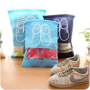 Neue tragbare Reise Aufbewahrungsschuhe Tasche Faltbare Home Kordelzug Staubdichte Cover Beutel Nützliche Schuh Aufbewahrungstasche Reisezubehör