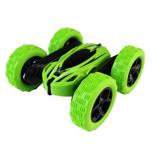 Children's Toys Wholesale Double-sided Crash Resistant Rotary Roll Stunt Car Four-wheel Drive Children's Toy Remote Control Car RC Wireless