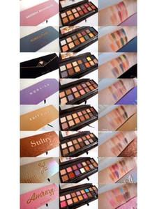 2020 famosi multi tipi di 14 colori tavolozza ombretto + pennello morbido vongole afoso mordern prisma bybel alyssa beverly riviera subcultura