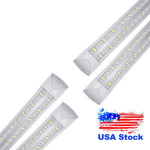 4ft led tube 36W 50W 72W Warm Cool White 1200mm 4ft SMD2835 192pcs Super Bright Led Fluorescent Bulbs AC100-265V Stock in US