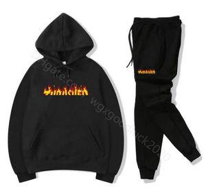 Hot sale set Brand sweatsuit Tracksuit Men hoodies pants Mens Clothing Sweatshirt Pullover women Casual Sport Tracksuit Jogging Sweat Suit